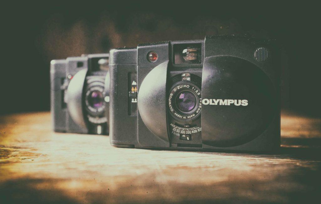 Die Olympus XA2